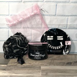 🖤NEW!🖤 PINK by VS Charcoal Pamper Pack
